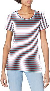 J.Crew Women's Perfect Fit Short Sleeve T-Shirt in Stripe