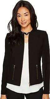 Calvin Klein Womens Lux Jacket with Zip