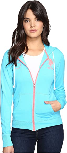 Neon Pop French Terry Hoodie
