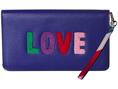 Collection XIIX Love Clutch (Navy) Handbags