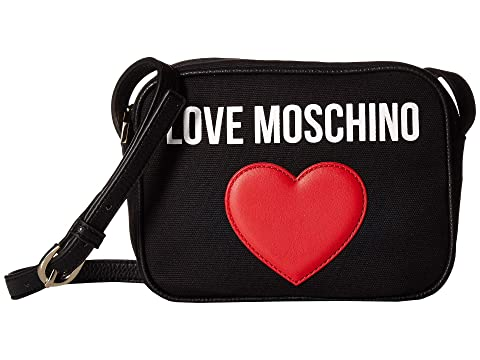 LOVE Moschino Canvas Camera Bag