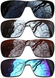 ToughAsNails Set of 4 Polarized Replacement Lenses Oakley Turbine Rotor Pack-BSBI1