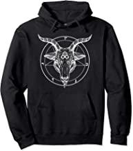Baphomet Horned Demon Pentagram Satanic Symbol Hoodie
