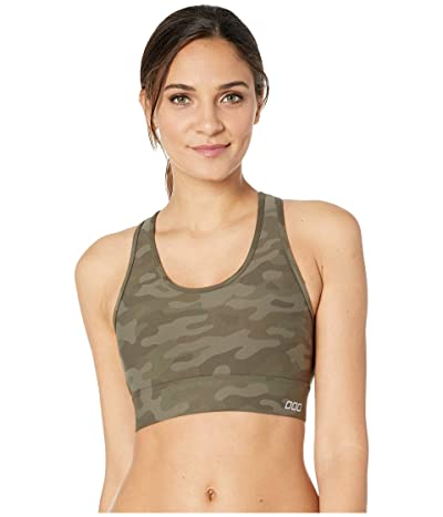 Lorna Jane Reduce The Bounce Sports Bra (Commando Print) Women