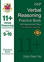 11+ Verbal Reasoning Practice Book with Assessment Tests (Ages 9-10) for the CEM Test (CGP 11+ CEM) (English Edition)