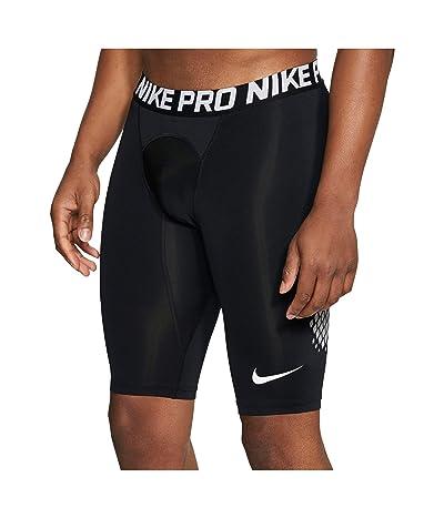 Nike Shorts Slider (Black/Wolf Grey/White) Men
