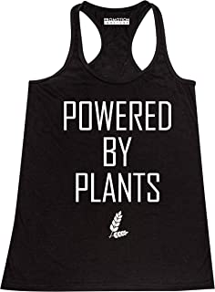 Promotion & Beyond Powered by Plants Funny Vegan Women's Tank Top