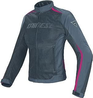 Dainese Women's Hydra Flux D-Dry Jacket (42) (Black/Ebony/Fuchsia)