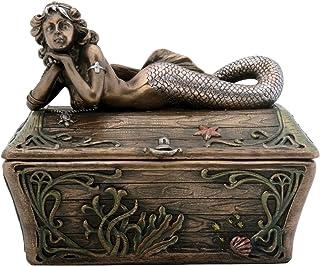 StealStreet Mermaid Trinket Box Collectible Figurine