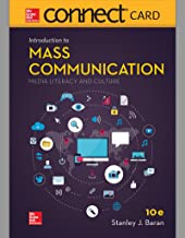 Connect Access Card for Introduction to Mass Communication: Media Literacy and Culture