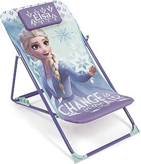 ARDITEX WD12995 Tumbona Plegable de 43x66x61cm de Disney-Frozen II