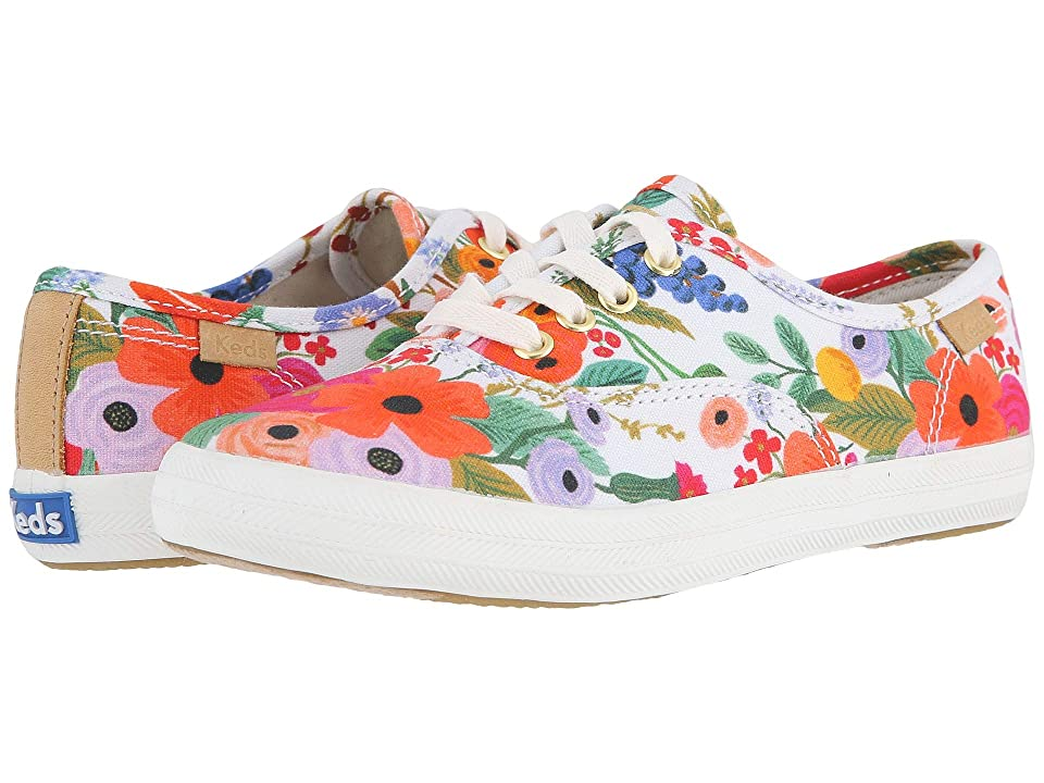 Keds x Rifle Paper Co. Kids Rifle Paper Champion Seasonal (Little Kid/Big Kid) (Garden Party) Girls Shoes