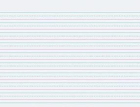 Pacon Multi-Program Handwriting Paper, 10 1/2 in X 8 in, D Nealian (Grade 1) Zaner-Bloser (Grade 2), 500 Sheets