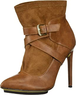 Michael Antonio Women's Agi Ankle Boot, tan, 9 M US