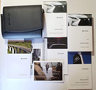 2018 Lexus RX 350 RX 350L Owners Manual 18