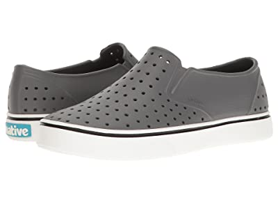 Native Shoes Miles (Dublin Grey/Shell White) Athletic Shoes