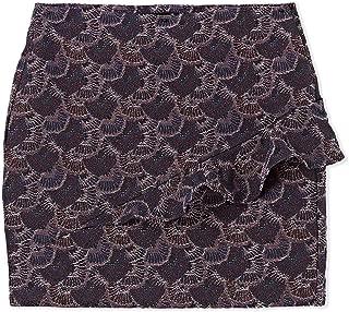 Bershka Asymmetrical Skirt for Women - Multi Color
