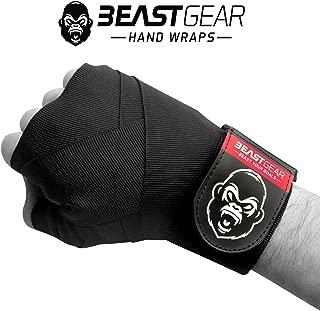 Vendas de boxeo avanzadas, de Beast Gear. Calidad superior para deportes de combate, artes marciales. Vendas elásticas de 4,5 metros