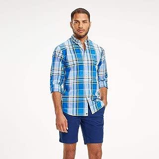 TOMMY HILFIGER Men's Large Multi Check Shirt, Blue/Multi