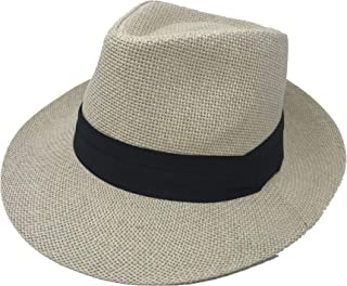 048e2d2d28a Amazon.com  Beige - Panama Hats   Hats   Caps  Clothing