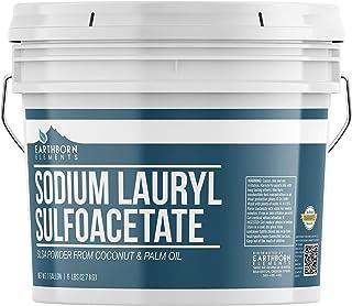 Sodium Lauryl Sulfoacetate (SLSA) (1 Gallon) Bath Bomb Additive, Gentle on Skin, Long Lasting Foam & Bubbles by Earthborn ...