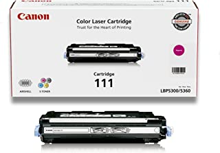 Canon Original 111 Magenta Toner Cartridge for Canon imageCLASS MF9100 Series Color Laser Printers (1658B001AA)