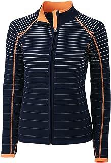 Cutter & Buck Annika Women's Moisture Wicking Drytec Long Sleeve Techincal Zip Sweater