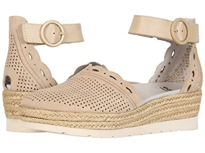 Earth Yarrow (Light Tan Silky Suede/Biscuit Soft Calf) Women