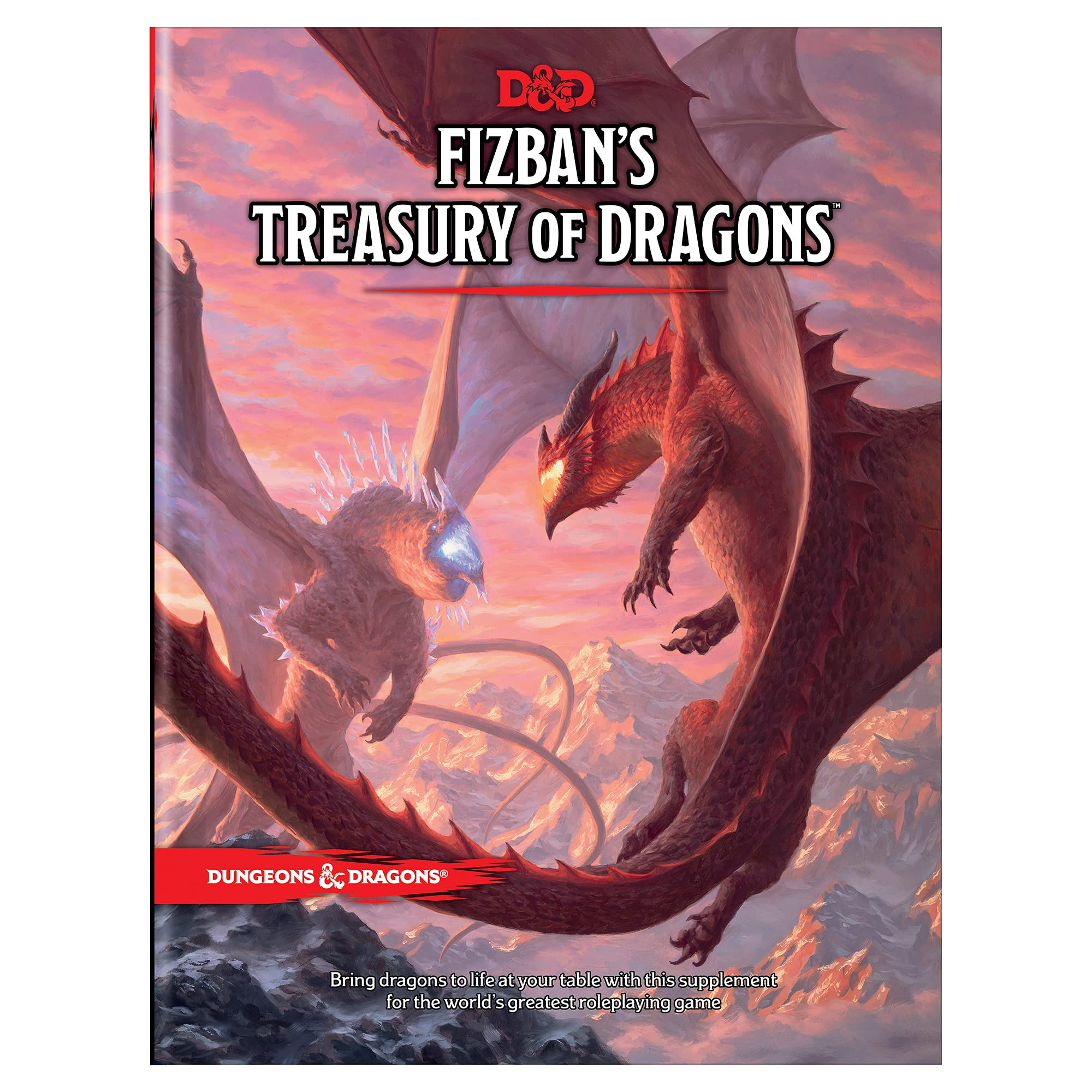 Cover image of Fizban's Treasury of Dragons by Wizards RPG Team