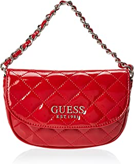 Guess Womens Money Belt, Red - TG766780