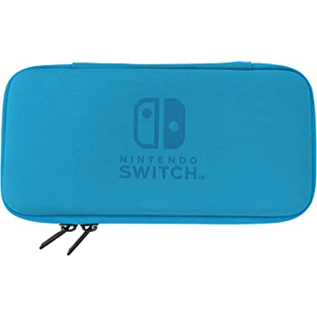 Nintendo Switch Lite Slim Tough Pouch (Blue) By HORI - Officially Licensed By Nintendo