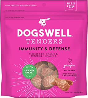 DOGSWELL Immunity & Defense Tenders Grain-Free Chicken Breast for Dogs