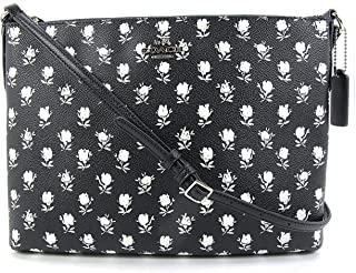 the Americana iPad Crossbody in Black/White Canvas, Style 35453