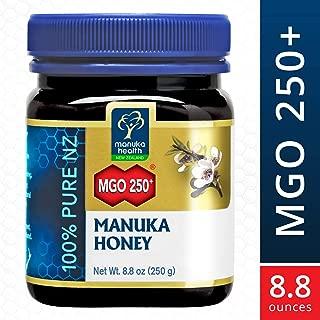 Manuka Health - MGO 250+ Manuka Honey, 100% Pure New Zealand Honey, 8.8 Ounce