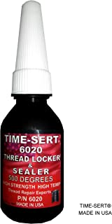 Time-Sert 6020 thread locker & sealer 500 DEGREES FAHRENHEIT