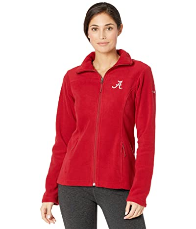 Columbia College Alabama Crimson Tide Give and Gotm II Full Zip Fleece Jacket (Red Velvet) Women