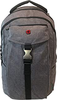 "Wenger Chasma Backpack with 16"" Laptop Pocket and Tablet Pocket Grey Heather"