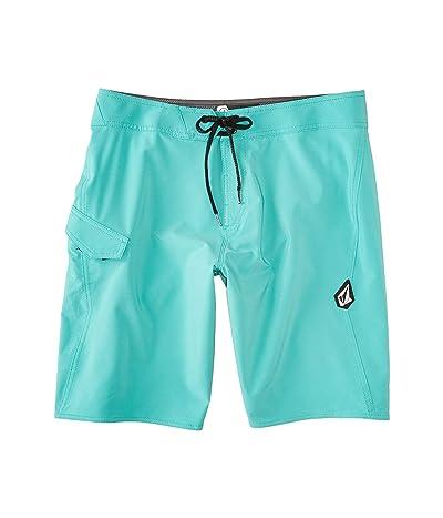 Volcom Lido Solid Mod 20 Boardshorts (Mysto Green) Men