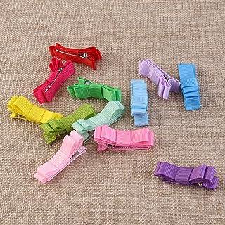ulooie–Lazos para el pelo para niñas pinza cinta Clips de pelo (color al azar)