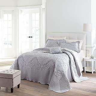 BrylaneHome Amelia Bedspread - Grey, King