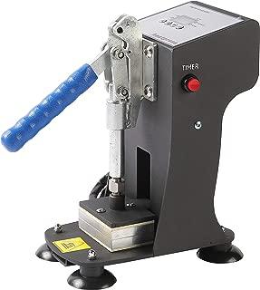 Mini Manual Heat Press Machine 1000lbs Max Down Force Hot Presser 2x3 Inch Dual Heating Plates LCD Controller 300W Shirt Heat Press Transfer Sublimation Press Machine