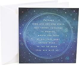 Hallmark Studio Ink Sympathy Card (Perhaps Not Stars)