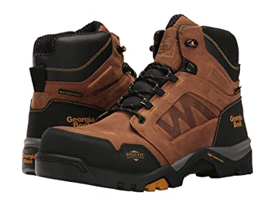 Georgia Boot Amplitude 6 Comp Toe Waterproof (Brown) Men
