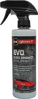 Gloss Enhancer Detail Spray | Quick Waterless Detailer Spray for Car Detailing | Add Shine Gloss Depth Paint | Car Wash Kit & Dust Remover (16 oz)