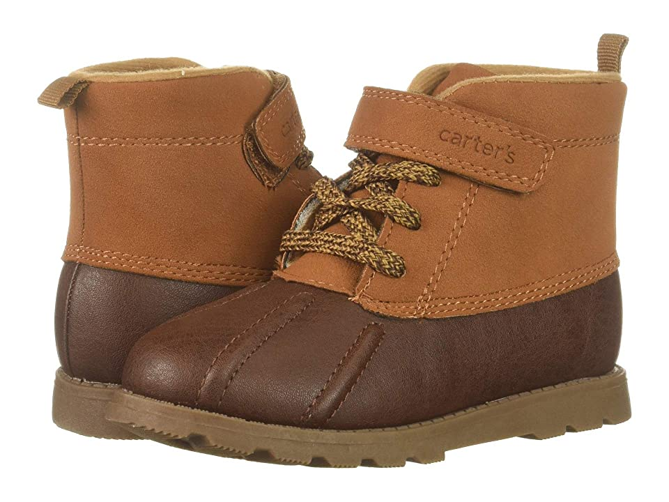 Carters Bram (Toddler/Little Kid) (Brown PU/PU Suede) Boy