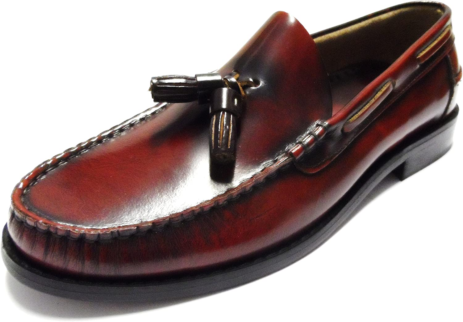 Delicious Junction Bordo Merton Loafers Sizes 7-11 Available