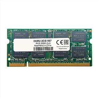 Memória 2gb 5300s 667MHZ DDR2 Notebook Macbook