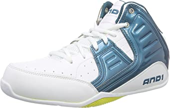 AND1 Mens Rocket 4.0 Mid Basketball Athletic Shoes,