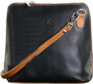 Italian Soft Leather Hand Made Small/Micro Cross Body Bag or Shoulder Bag Handbag
