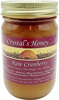 Crystals Honey, Honey Cranberry, 17 Ounce